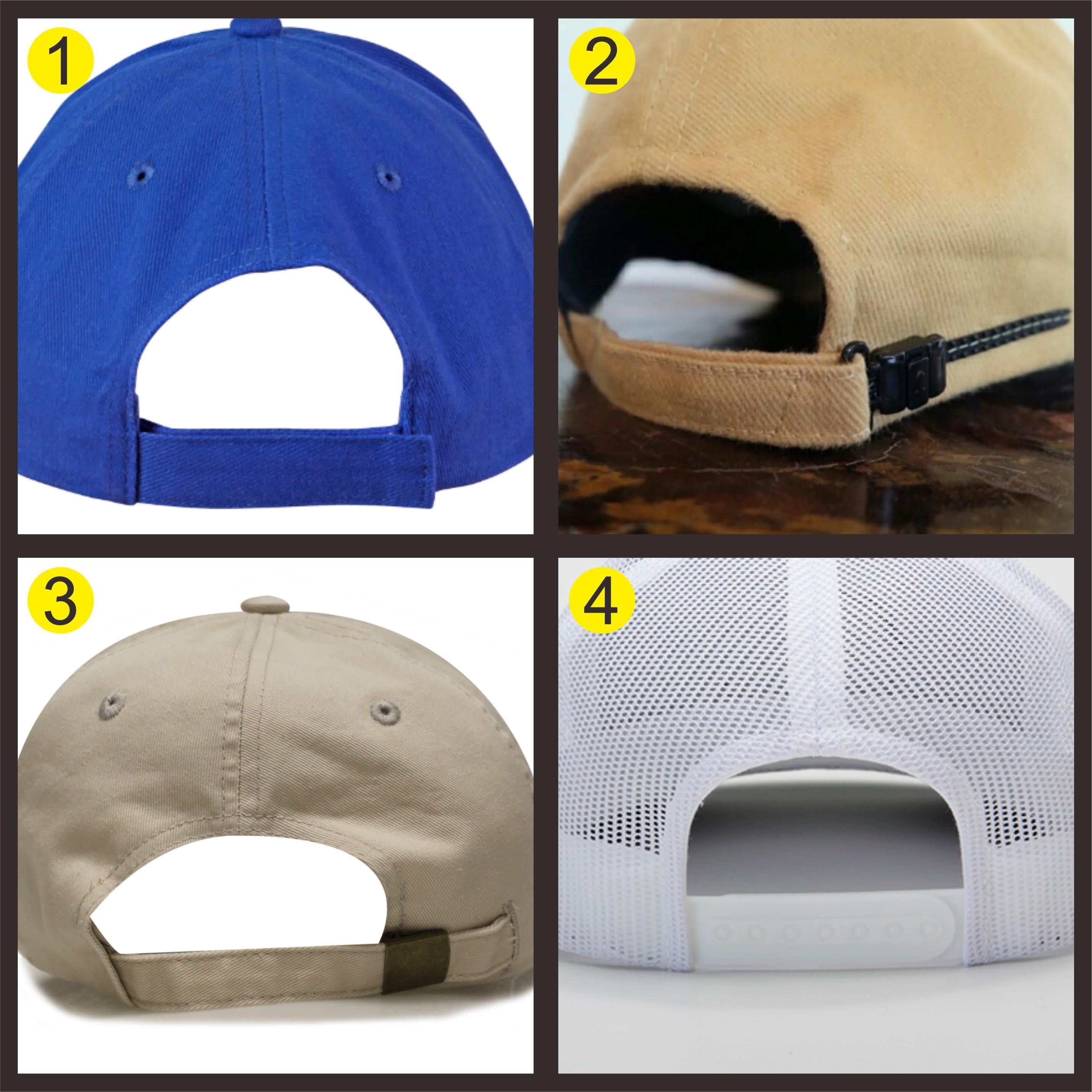 Konveksi Topi Aneka Model Belakang Topi
