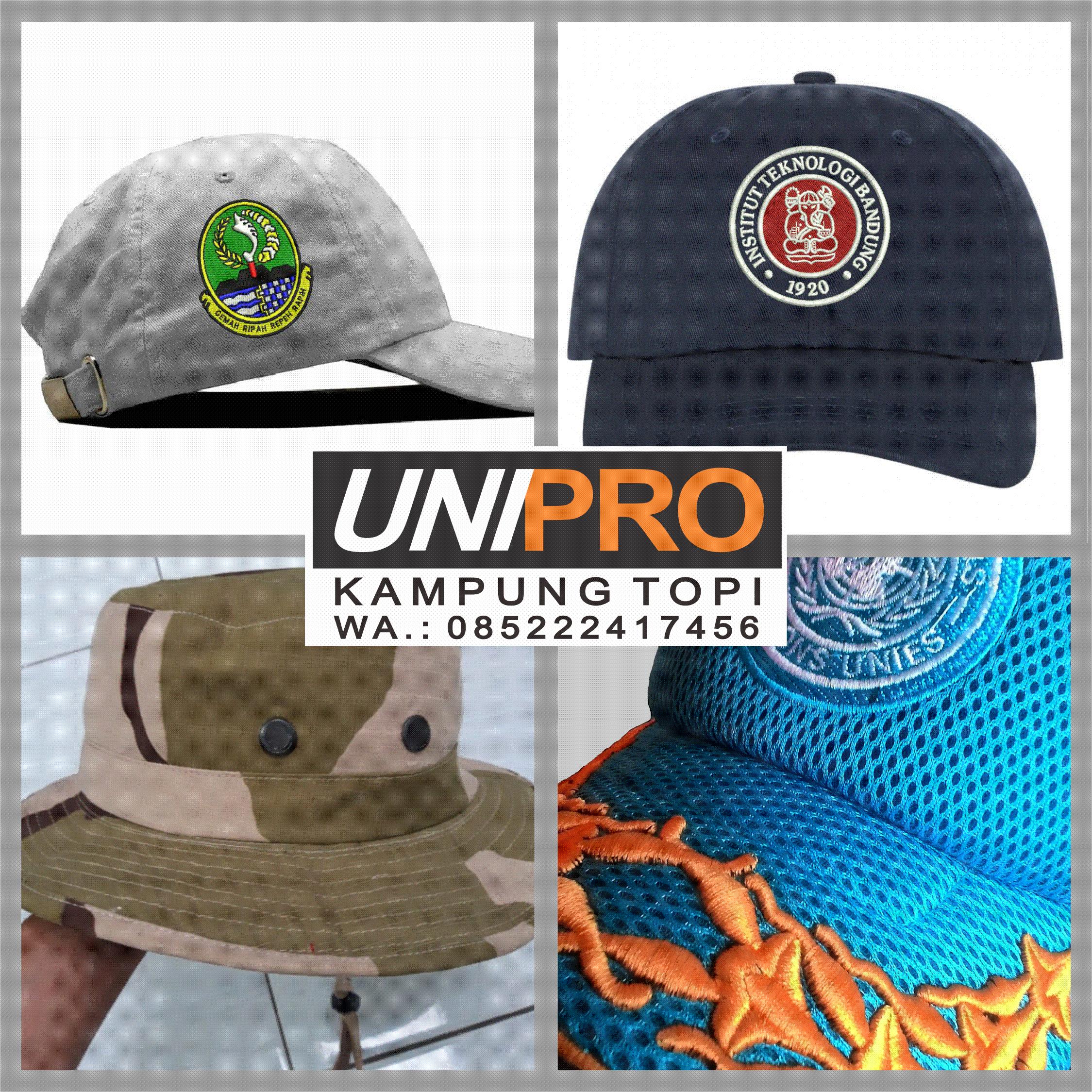 Terima Pesanan Topi Bandung Konveksi Topi / Produksi Topi Bandung / Bordir 3d